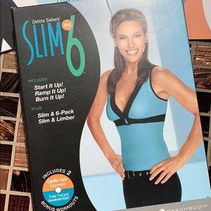 Beachbody Slim In 6 workout program 3 Disks